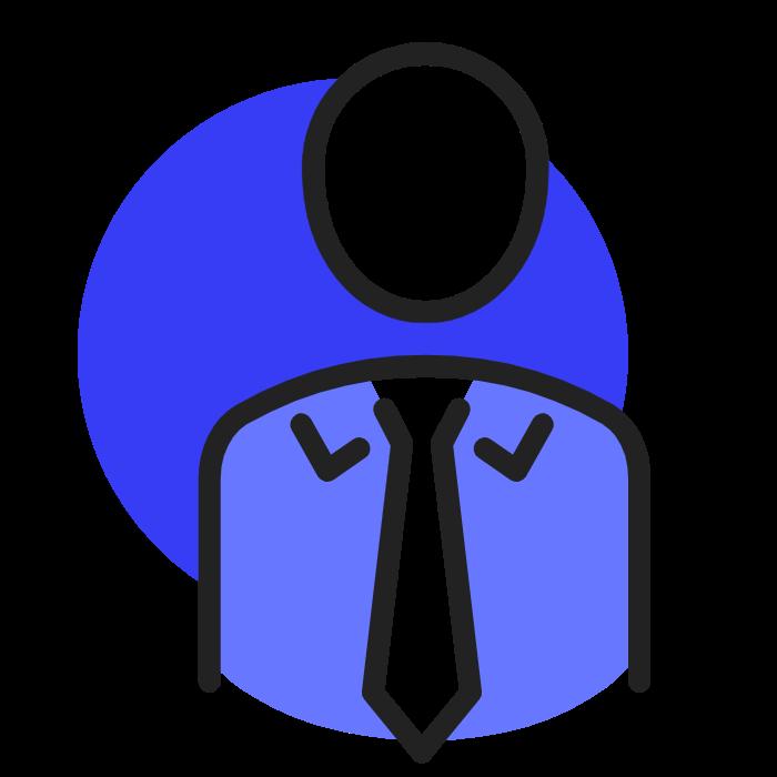 independant bleu sombre